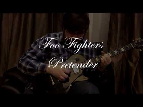 Foo Fighters - Pretender (guitar Cover By Denis Vlasov) Gibson LP Studio + Fender TL62B