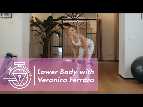 Lower Body Workout with Veronica Ferraro Ep. 2 | #...