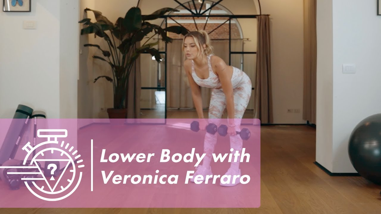 Lower Body Workout with Veronica Ferraro Ep. 2 | #GUESSActive
