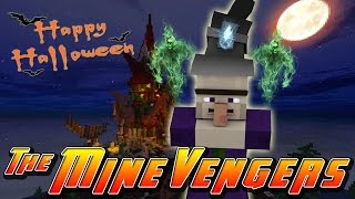 Minecraft MineVengers - THE EVIL WITCHES SPELL!!!