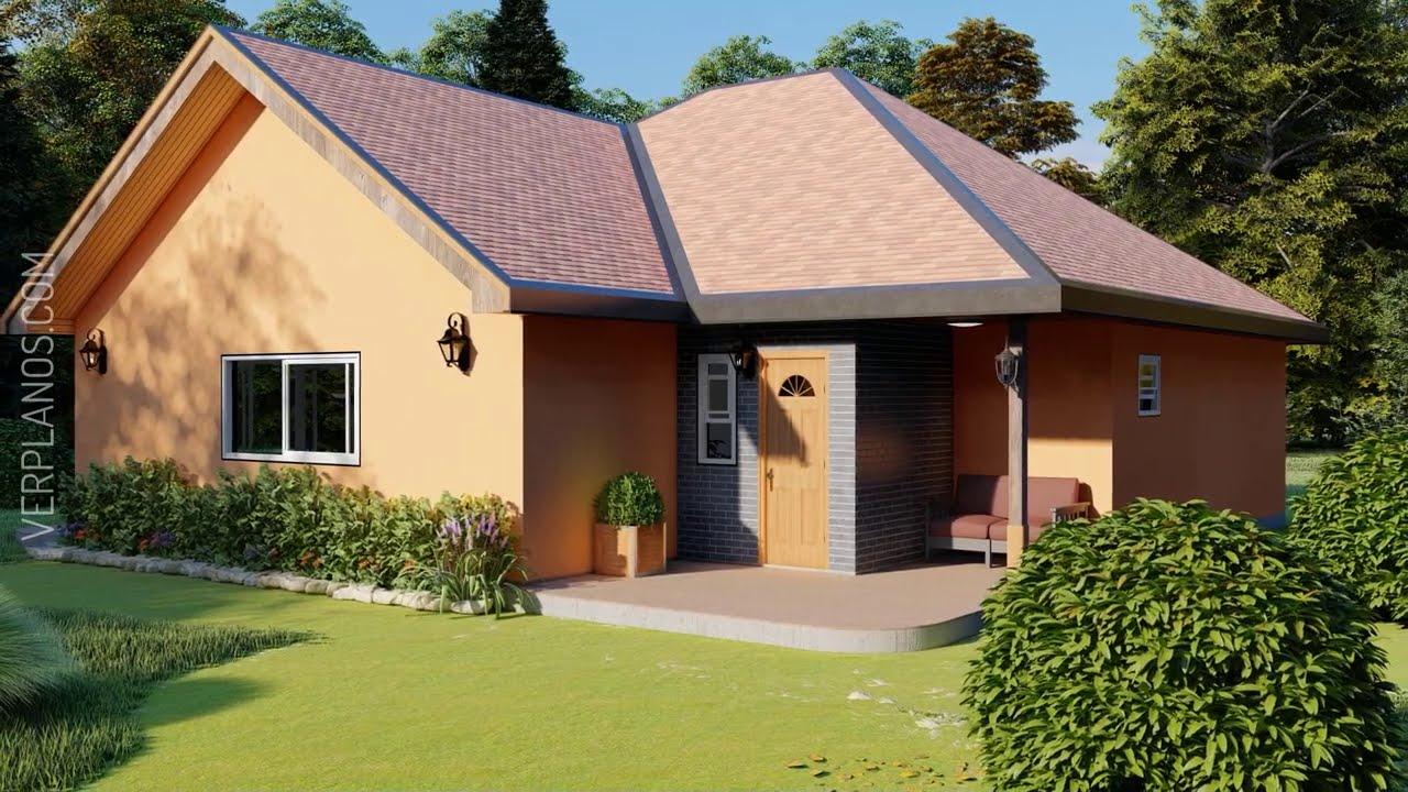✅ Planos de Casa ¡GRATIS! #3 Dormitorios #2 Baños (DWG / PDF)