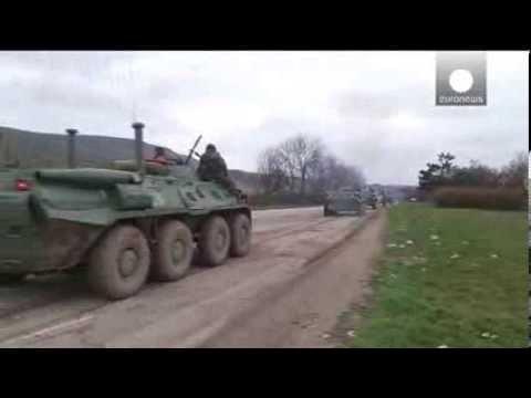 Ukraine on alert for full combat duty in Crimea