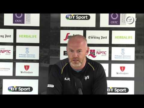 Ospreys TV: Edinburgh post-match press conference