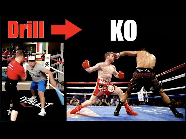 Canelo Alvarez | Crazy Drills That Became KO's - Breakdown