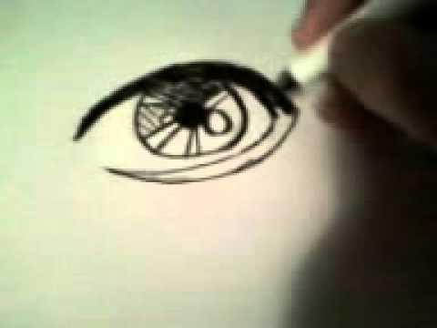Original anime eye for geo's art blog