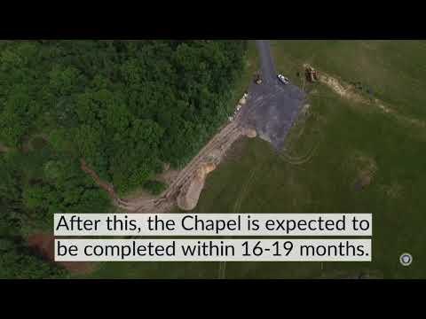 Christ the King Chapel Construction Site Preparation