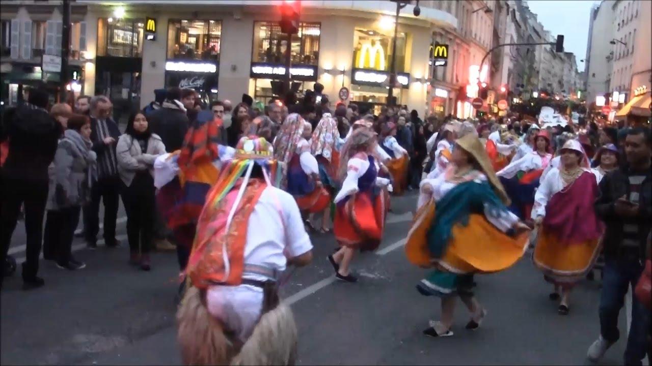 Carnaval de paris 2017 raices andinas del ecuador francia - Carnaval de paris 2017 ...