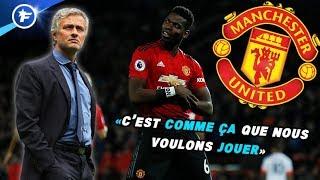 Le message caché de Paul Pogba à José Mourinho | Revue de presse