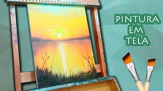 AULA DE PINTURA - Pintura óleo sobre tela para iniciantes 01/02