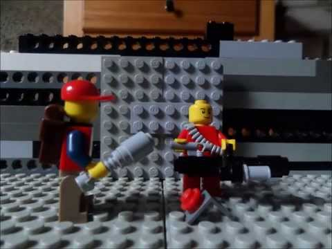 Lego Team Fortress 2: The Little Sentry
