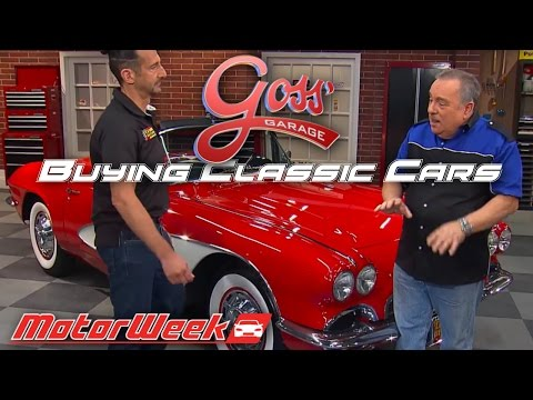 Goss' Garage: Buying Classic Cars - Spotting An Authentic Find