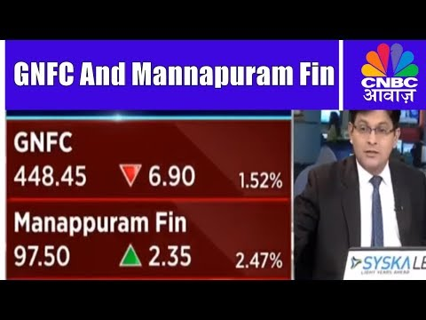 Manappuram Finance Q2 Results | GNFC On The Radar | CNBC Awaaz