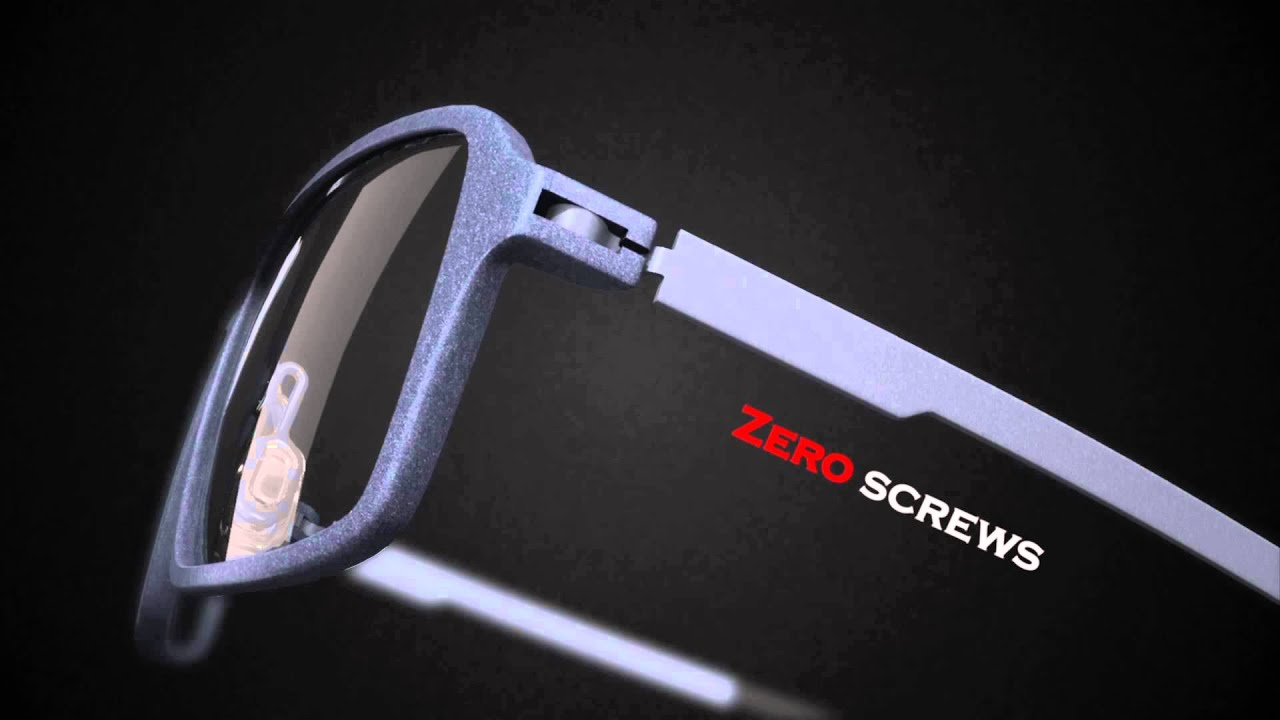 9890de219e INNOVATIVE 3D PRINTED EYEWEAR FROM MONOQOOL - YouTube