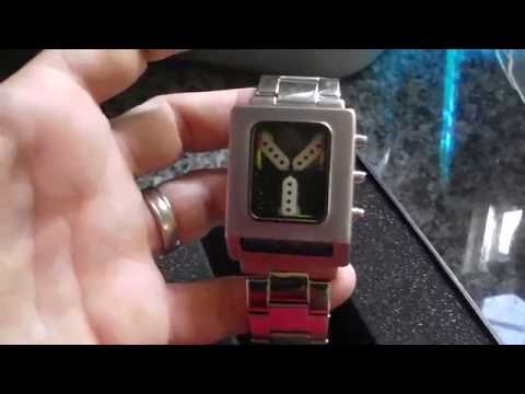 Back to the Future Flux Time Capacitor Watch ThinkGeek Review