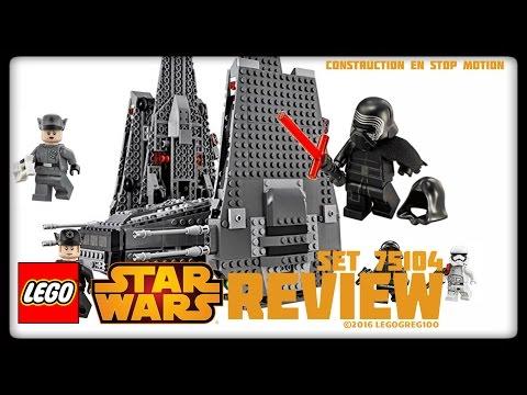 LEGO STAR WARS: KYLO REN'S COMMAND SHUTTLE...