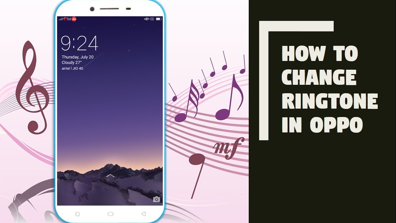 How to Change Ringtone in OPPO