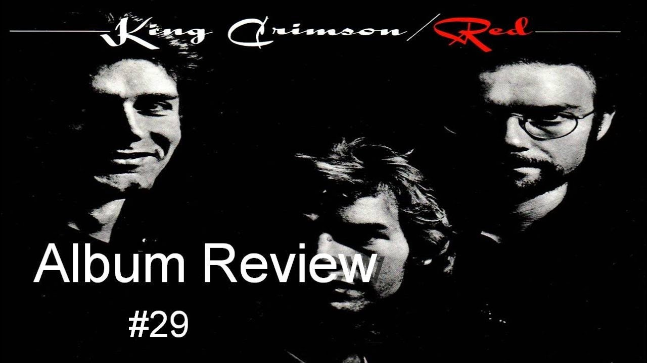King Crimson Red Album Cover