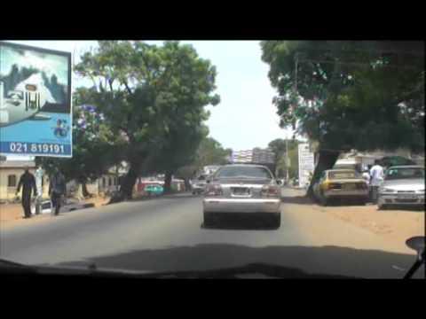 Eli's Crazy Car Ride (1) - Accra, Ghana - May 2010