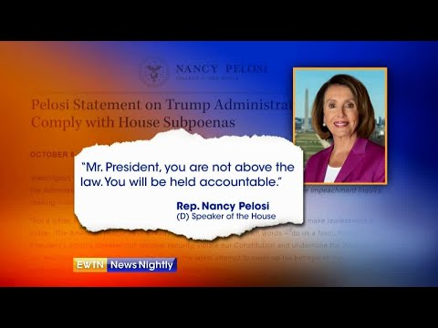White House, Democrats clash over impeachment rules - EWTN News Nightly