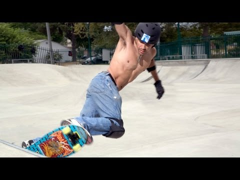How to ride and do basic tricks in a skatepark? - Learn To R