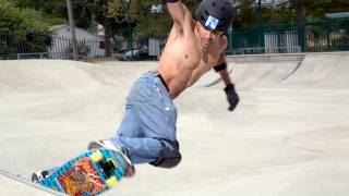 How to ride and do basic tricks in a skatepark? - Learn To Ride A Skateboard (Chapter 7 of 7)