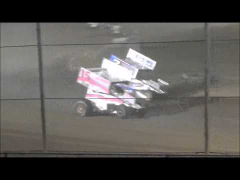 AJ Flick 410 Sprint Mercer Raceway Park April 23, 2016