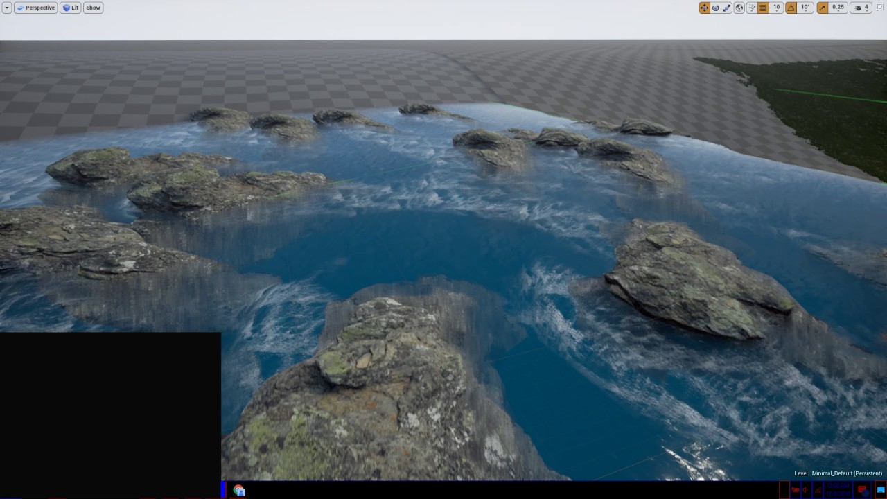 Unreal engine 4 14 river water