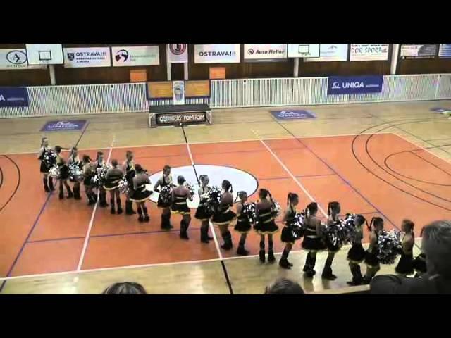 AP klub Brušperk - Teens / Ostravský POM-POM 2013 - 2. místo v kategorii juniorky velké formace