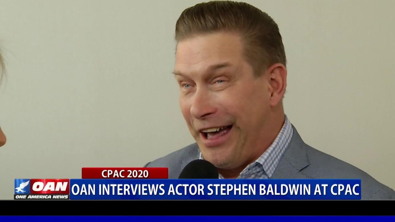 OAN interviews actor Stephen Baldwin at CPAC 2020