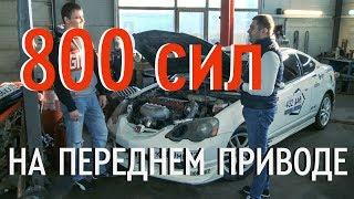 Honda Integra DC5 turbo для драг рейсинга | Тюнинг по-русски