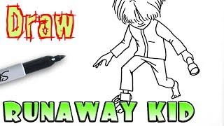 How to Draw the Runaway Kid | Little Nightmares