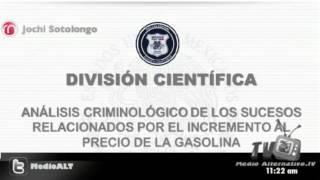 Acusan a AMLO y Noroña de promover protestas del gazolinazo
