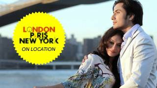Ali Zafar On Location: London, Paris, New York