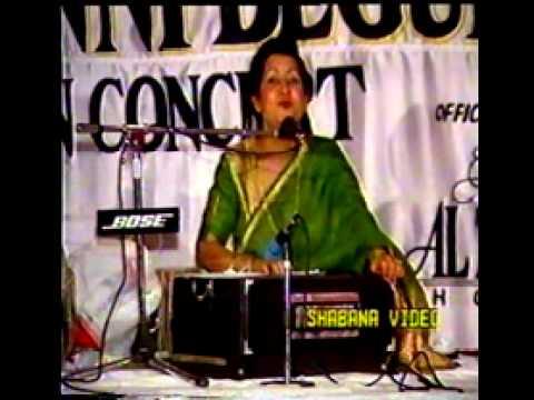 Jhoom Sharabi (Munni Begum Live Programme)