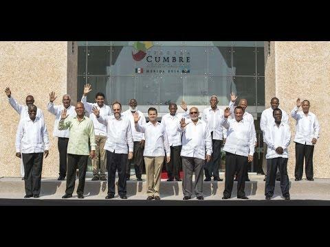 Ceremonia de Inauguración de la III Cumbre México-CARICOM