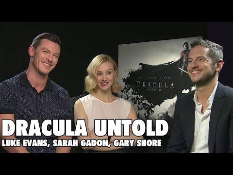 Dracula Untold Luke Evans Sarah Gadon Gary Shore Interviews Mp3