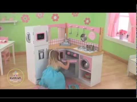 d-edition tv präsentiert die kidkraft spielküche holz 53185 grand ... - Kidkraft Küche Espresso