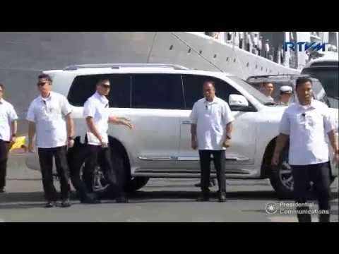 Duterte latest news - October 26, 2017 | Inspect Russian Submarine