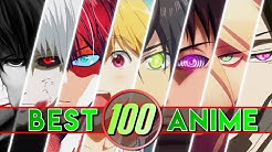 100 BEST ANIME (Deutsch/German)