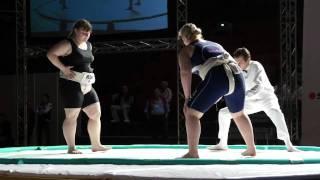 WU18 - +70kg - Final - Gordeeva Ekaterina (RUS) (Silver Medal) vs Shitikova Elena (RUS) (Gold Medal)