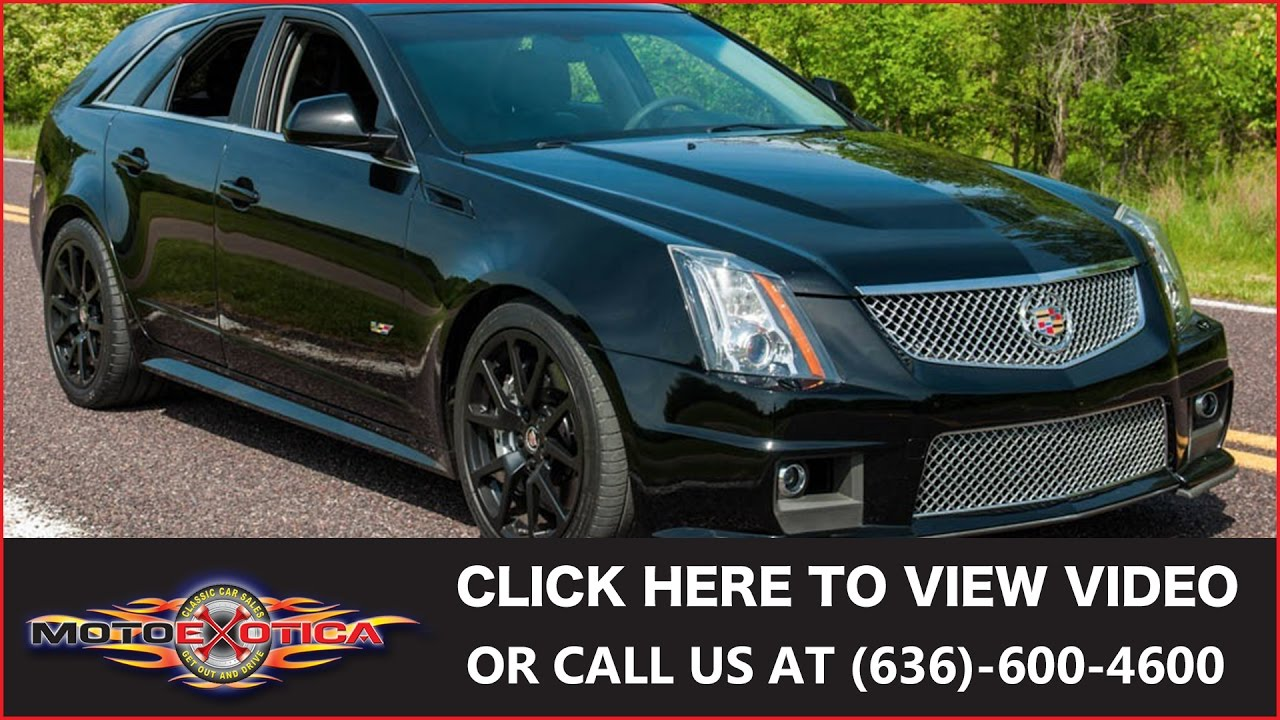 Cts-V Wagon For Sale >> 2012 Cadillac Cts V Wagon Sold