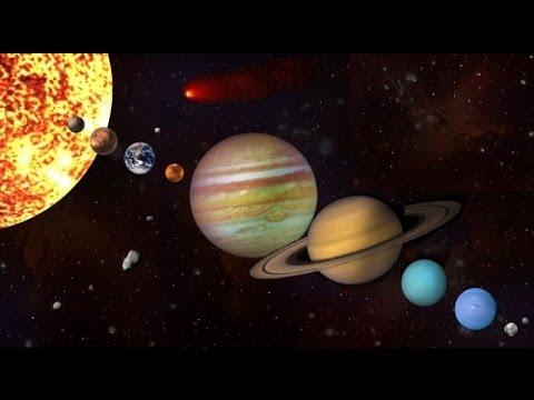 """El Sistema Solar Interior """"universo"""""""