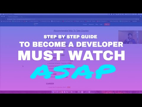 The Complete Guide Step By Step to Become a Developer