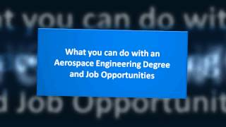 Aerospace Engineering Degree Programs