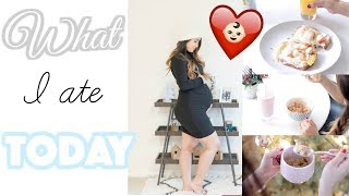 7 Months Pregnant! WHAT I EAT IN A DAY