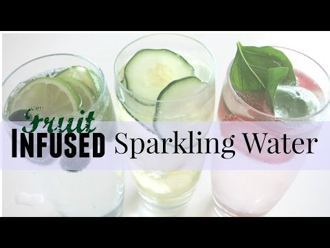 Fruit Infused Sparkling Water  || I Like DIY Projects