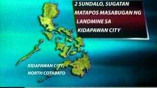 NTL:  2 sundalo sa NCotabato, sugatan nang masabugan ng landmine