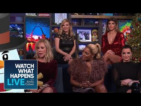Will The OG Housewives Be Shady Or Bring Holiday Cheer? | RHOA & RHONJ | WWHL