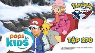 Pokémon Tập 270 -  Vượt Qua Núi Tuyết! Mammoo Và Yukinooh - Hoạt Hình Pokémon Tiếng Việt  S18 XY