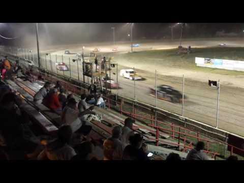 Aj ward racing. 6/24/16 feature win #2 @ i-96 speedway